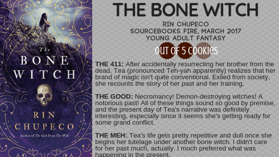 Mini Reviews: The Bone Witch, Scrappy LittleNobody