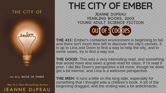 Mini Reviews: City of Ember, Hollow City