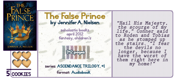 To Prince or Not to Prince || The False Prince Review