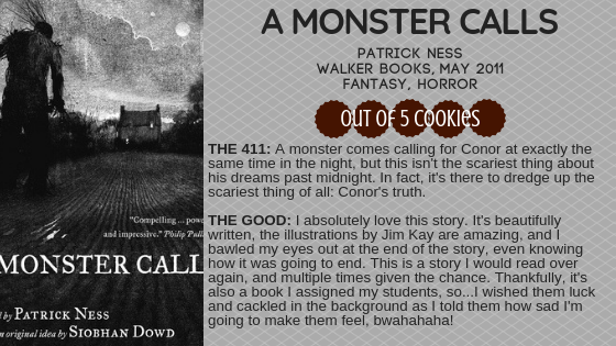 Mini Reviews: A Monster Calls, Lethal White
