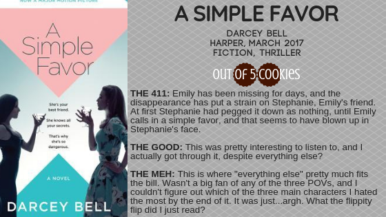 Mini Reviews: A Simple Favor, The Motion ofPuppets