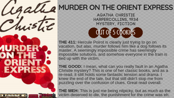 Mini Reviews: Murder on the Orient Express, Always Look on the Bright Side of Life