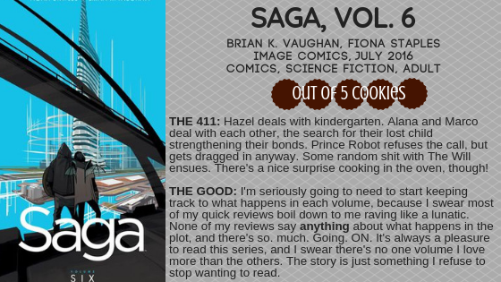 Mini Reviews: Saga, Vol. 6 and Vol. 7