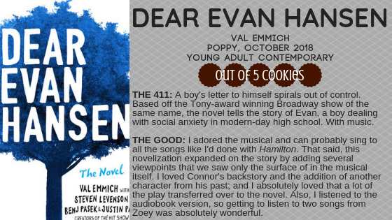 Mini Reviews: Dear Evan Hansen, The Art of War