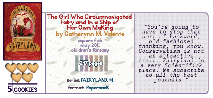 Scientifick Fairies || The Girl Who Circumnavigated Fairyland Review