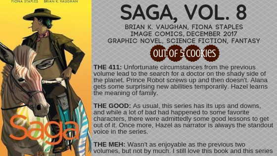 Mini Reviews: Saga, Volumes 8 and 9