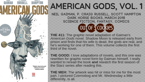 Mini Reviews: American Gods, Vol. 1 and 2