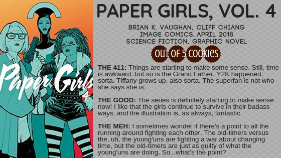 Mini Reviews: Paper Girls, Vol. 4 and 5