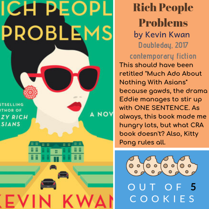 Mini Reviews: Rich People Problems, Code Girls