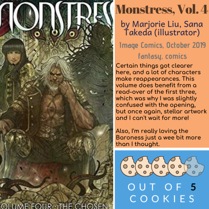Mini Reviews: The Alchemyst, Monstress Vol. 4