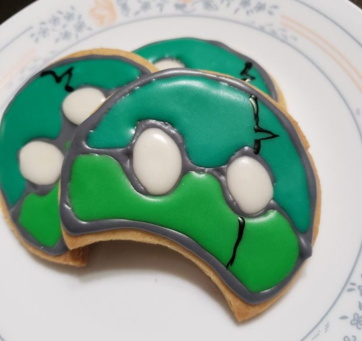 Food and Fandom: Suika Cookies
