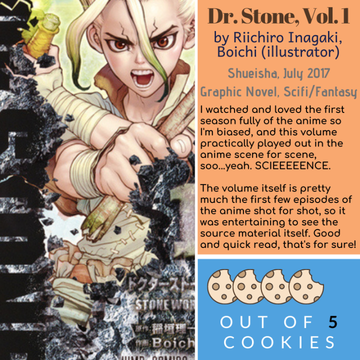 Mini Reviews: Dr. Stone Vol. 1, Girl, Wash Your Face