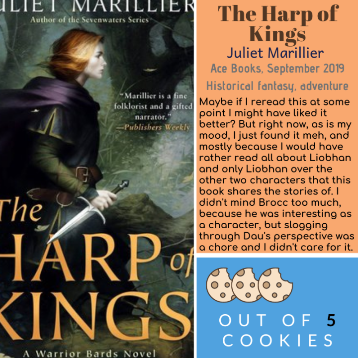 Mini Reviews: Harp of Kings, A Gentleman's Guide to Vice and Virtue