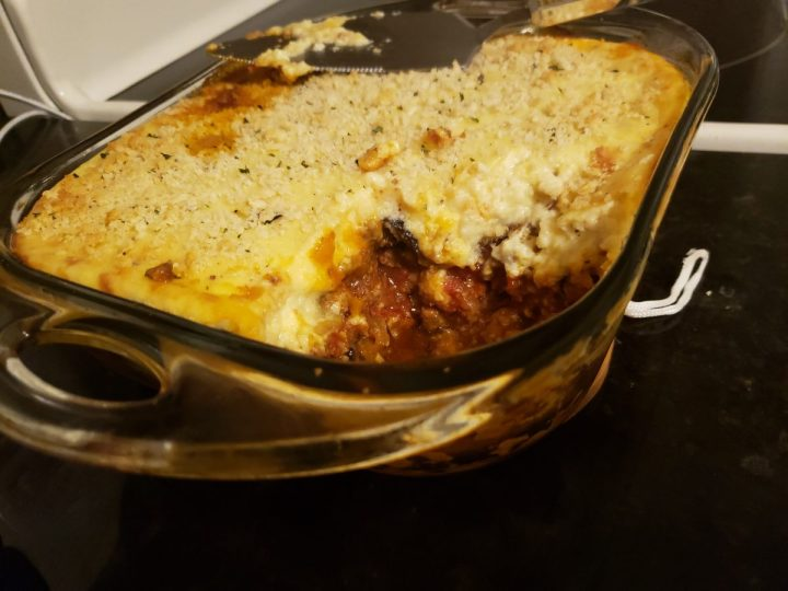 Food and Fandom: The Duke's Lamb Moussaka