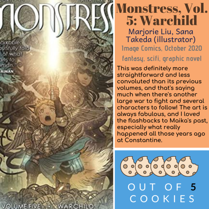 Mini Reviews: Monstress Vol. 5, Lady Justice