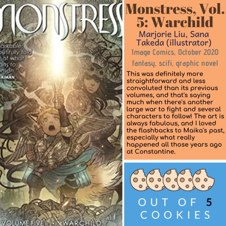 Mini Reviews: Monstress Vol. 5, LadyJustice