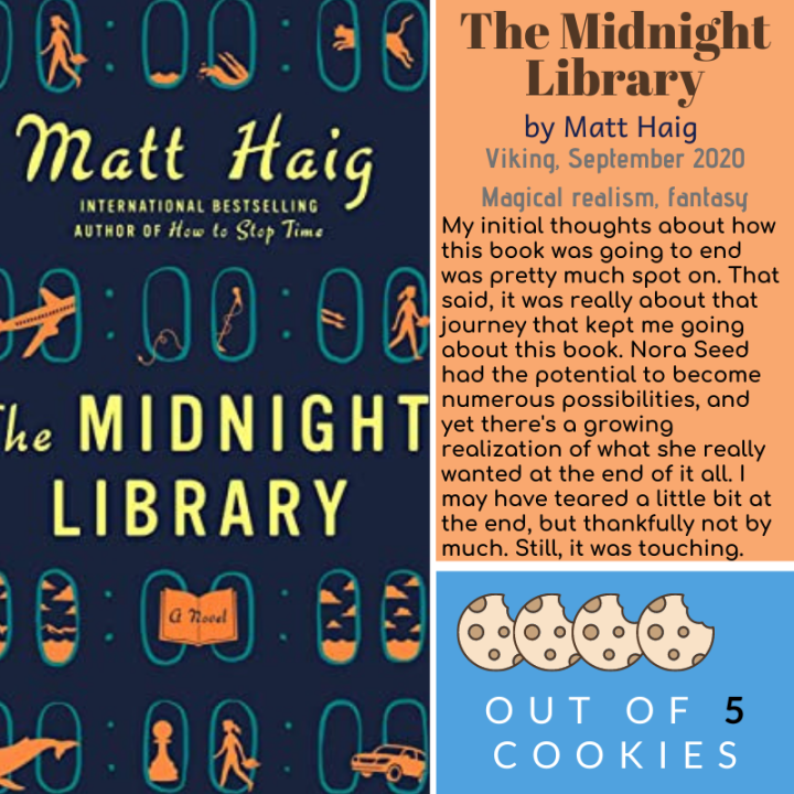 Mini Reviews: The Midnight Library, The Jane Austen Society