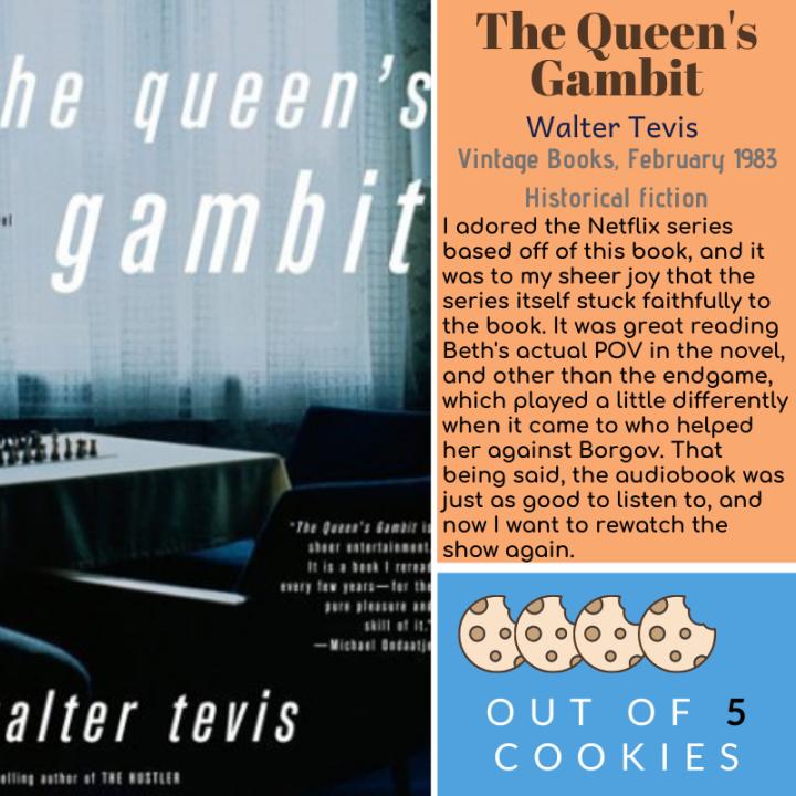 Mini Reviews: The Queen's Gambit, The HennaArtist