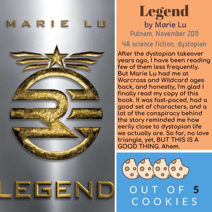Mini Reviews: Legend,Prodigy